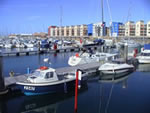 View of Jersey Harbours' St Helier Marina - Jersey, Channel Islands
