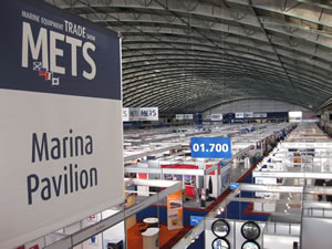Ocean Road  & Pacsoft International Ltd at the METS International Marine Equipment Trade Show - METS 2010 - 16th November to 18th November 2010