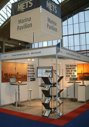 Pacsoft International and Ocean Road at METS 2005- Amsterdam RAI, Amsterdam, Netherlands